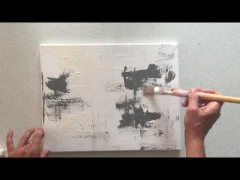Abstract art tutorial for beginner