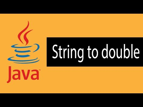 Java Tutorial Bangla |Java Convert String to double | Java Conversion Bangla Part -8
