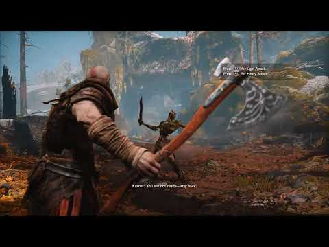 GOD OF WAR 4 (PS4 Pro) - Walkthrough Part 1