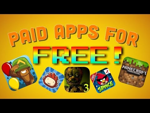 [WORKING] 2015  HOW TO GET PAID APPS FOR FREE! No Jailbreak + NO PC needed!