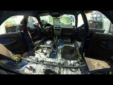 STI Stage Rally Build Episode 2 -  4K  -  2004 Subaru Impreza WRX STI