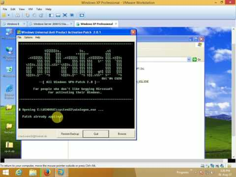 How to Activate without product key windows xp operating system