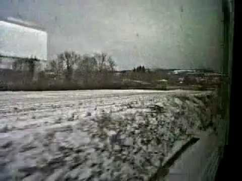 First Snow in Alpine France (Lyon to Grenoble)