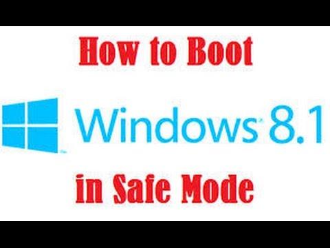 3 New & Easiet Methods to Boot Windows 8.1, 8 In Safe Mode