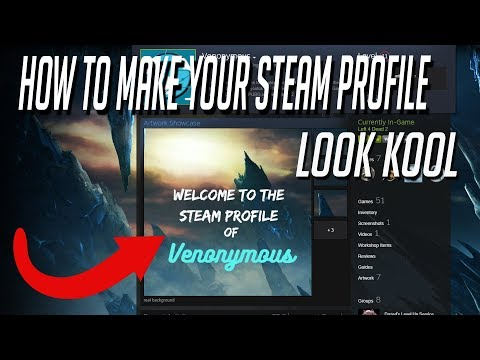 How to make Your steam profile look half decent