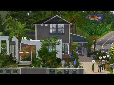 The Sims 3 House Building - Trobilo 70 | Speed Build