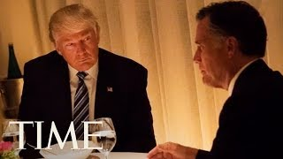 President Trump Just Endorsed Mitt Romney For US Senate, Here