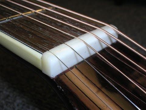 Luthier's Tips & Tricks #3 - Propper nut slotting height