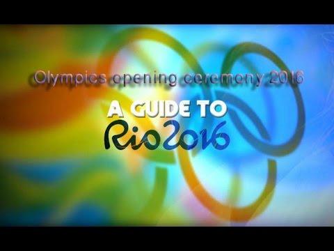 Olympics Opening Ceremony 2016