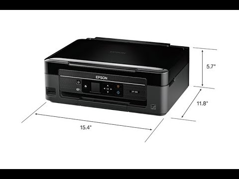 Epson XP-310- How To Clean Printhead