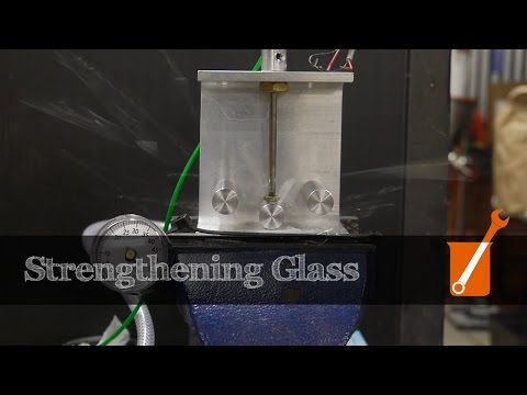 How to chemically strengthen glass (eg Gorilla Glass)