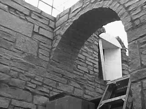 How to build a stone arrow loop