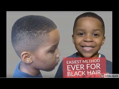 How To Do a Fade Haircut At Home the EASY Way| Black Hair | Detailed Talk Through