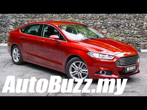 2015 Ford Mondeo 2.0L EcoBoost review - AutoBuzz.my