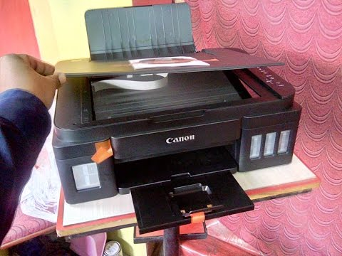 Unboxing Canon PIXMA G2000 Ink Tank All-in-One Color Printer