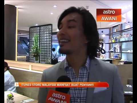 iTunes Store Malaysia manfaat buat penyanyi