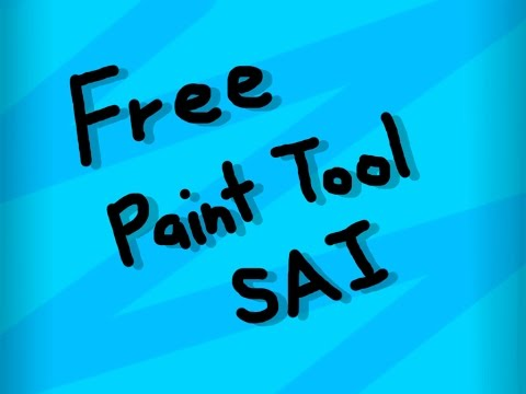 How to get Paint Tool SAI Full Version (1.0.0/1.0.1) | 2018