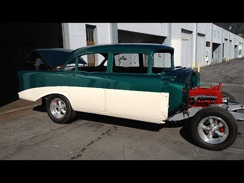 1956 Chevrolet 210 Four Door Sedan Restoration Project