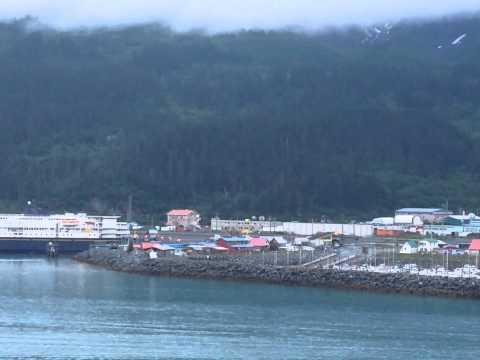 Leaving the Port of Whittier, Alaska