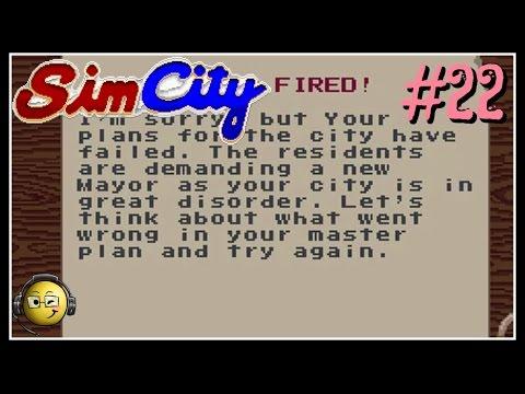 Let's Play Sim City (SNES) Part 22: You're Fired! Non-Scenario Style