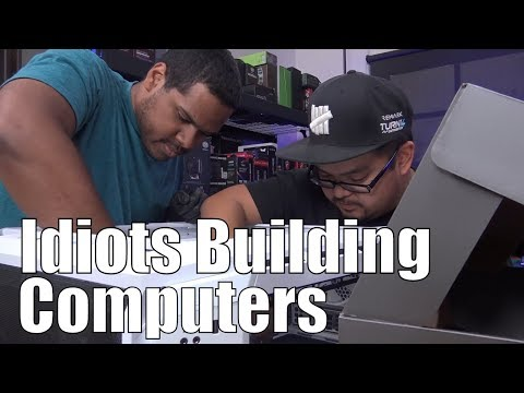 Beginners building a PC