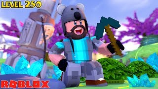 ROBLOX MINECRAFT SIMULATOR!! -- LEVEL 200+