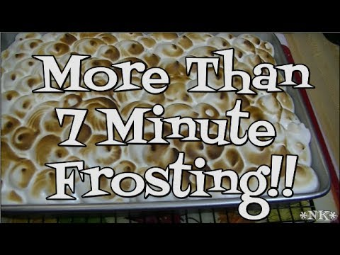 More Than 7 Minute Frosting!! Noreen's Kitchen
