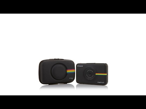 Polaroid Snap Touch Instant Camera w/Paper and Case