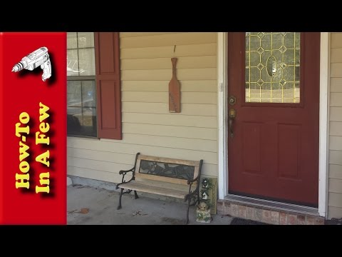 How To: Replace Your Door Seal Weatherstripping