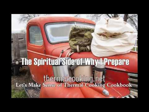 The Spiritual Side of Why I Prepare