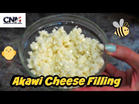 How to make Qatayef/Katayef Akawi Cheese Filling in 4K Ultra HD - (Part 3)
