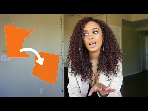 My Experience Moving Out Of State For College! | ImanaRadd