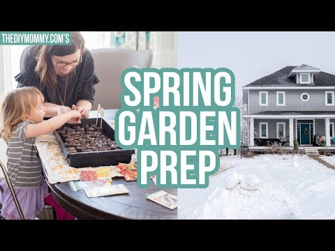SPRING GARDEN PREPARATION | Zone 3 Gardening