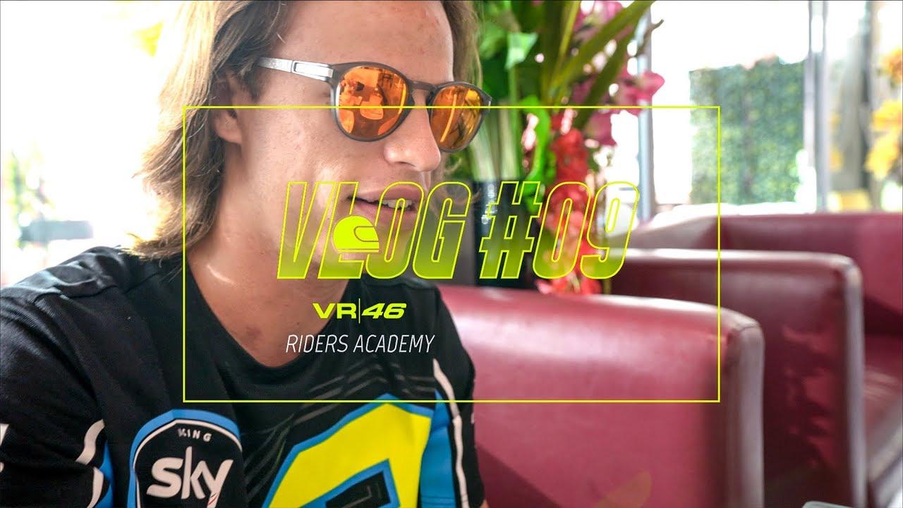 VLOG VR46 Riders Academy #09 - Nicolò Bulega