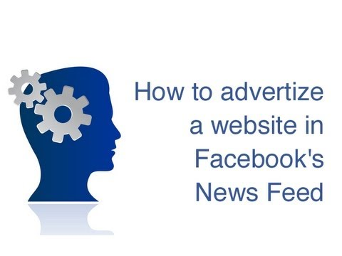 How to advertize a URL in Facebook's News Feed