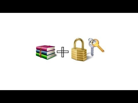 How To Encrypt Files In Winrar And Add A PassWord.Easy