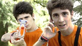 FAVIJ CONTRO GLI YOUTUBERS!! - VLOG NERF