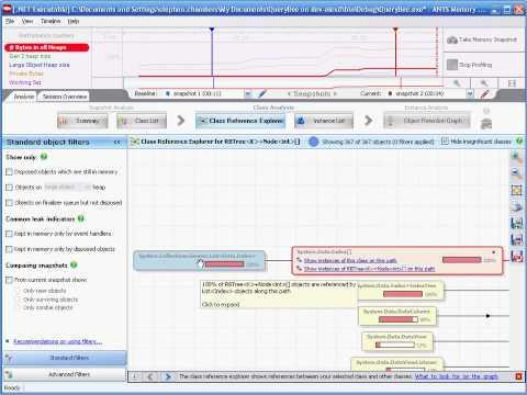 ANTS Memory Profiler 5: Class Reference Explorer