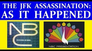 Download JFK'S ASSASSINATION (NBC-TV COVERAGE) (PART 1) [WITH RARE FOOTAGE ADDED] Video