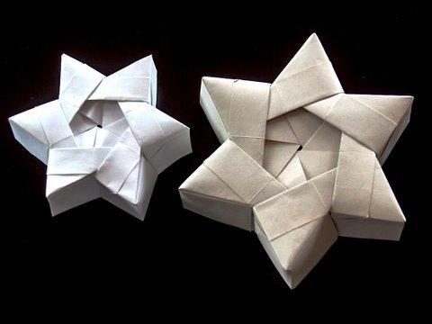 How to make a Christmas Star Gift Box