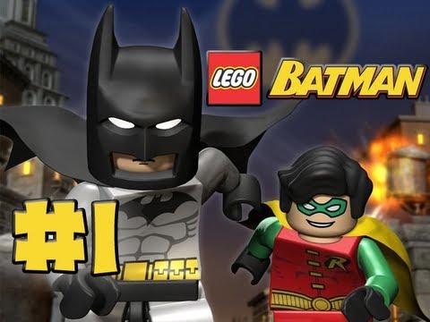 LEGO Batman - Episode 1 - You Can Bank on Batman (HD Gameplay Walkthrough)