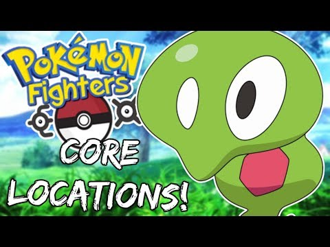 ZYGARDE CORE LOCATIONS! - Pokemon Fighters EX