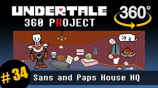 Skelebros House 360 (No Lag): Undertale 360 Project #34