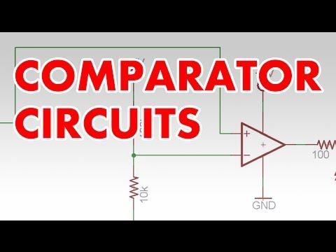 Comparator tutorial & clapper circuit