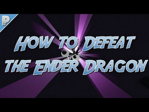 How to Kill/Defeat The Ender Dragon In Minecraft Pocket Edition