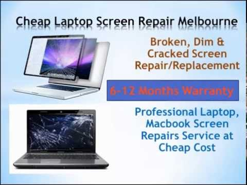 Cheap Laptop Screen Repair Melbourne VIC: Replace a New Screen