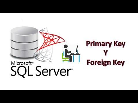 Crear tablas con PRIMARY KEY y FOREIGN KEY en SQL Server