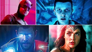 COMIC CON 2017 Trailers Compilation (RЕАDY PLАYЕR ONЕ, THOR 3, JUSTІCЕ LЕAGUЕ)