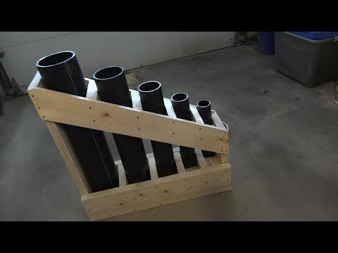 MULTI SHOT MORTAR RACK BUILD - READY FOR THE FIREWORKS