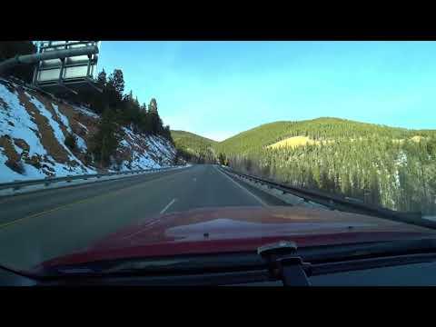 Gunnison, CO to Salida, CO Time Lapse Drive | Monarch Pass Colorado